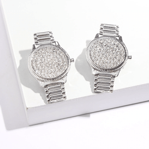 The Lux Lass Watch Earrings - Lota & Chain