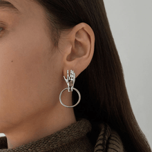 Load image into Gallery viewer, The Helping Hand Earrings - Lota & Chain