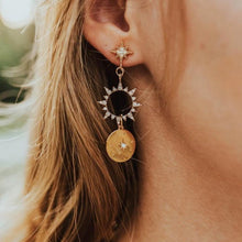 Load image into Gallery viewer, The Sun & Star Earrings - Lota & Chain