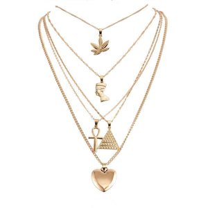 The Nile Necklace - Lota & Chain