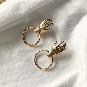 The Helping Hand Earrings - Lota & Chain