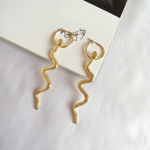Serpent Earrings - Lota & Chain