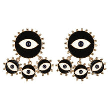 Load image into Gallery viewer, The All Seeing Earrings - Lota & Chain