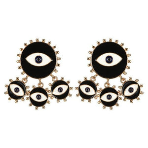 The All Seeing Earrings - Lota & Chain