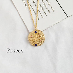 The Zodiac Necklace Collection - Lota & Chain