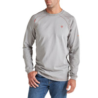 Ariat FR Men's Flame Resistant Silver Fox Crew Neck T-Shirt 10012258