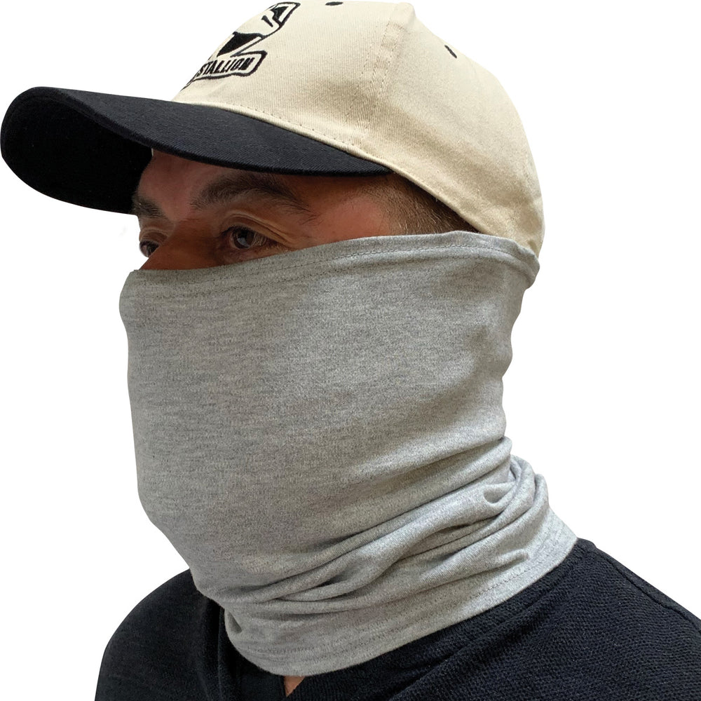 Black Stallion Gray FR Neck Gaiter AH1565-GY