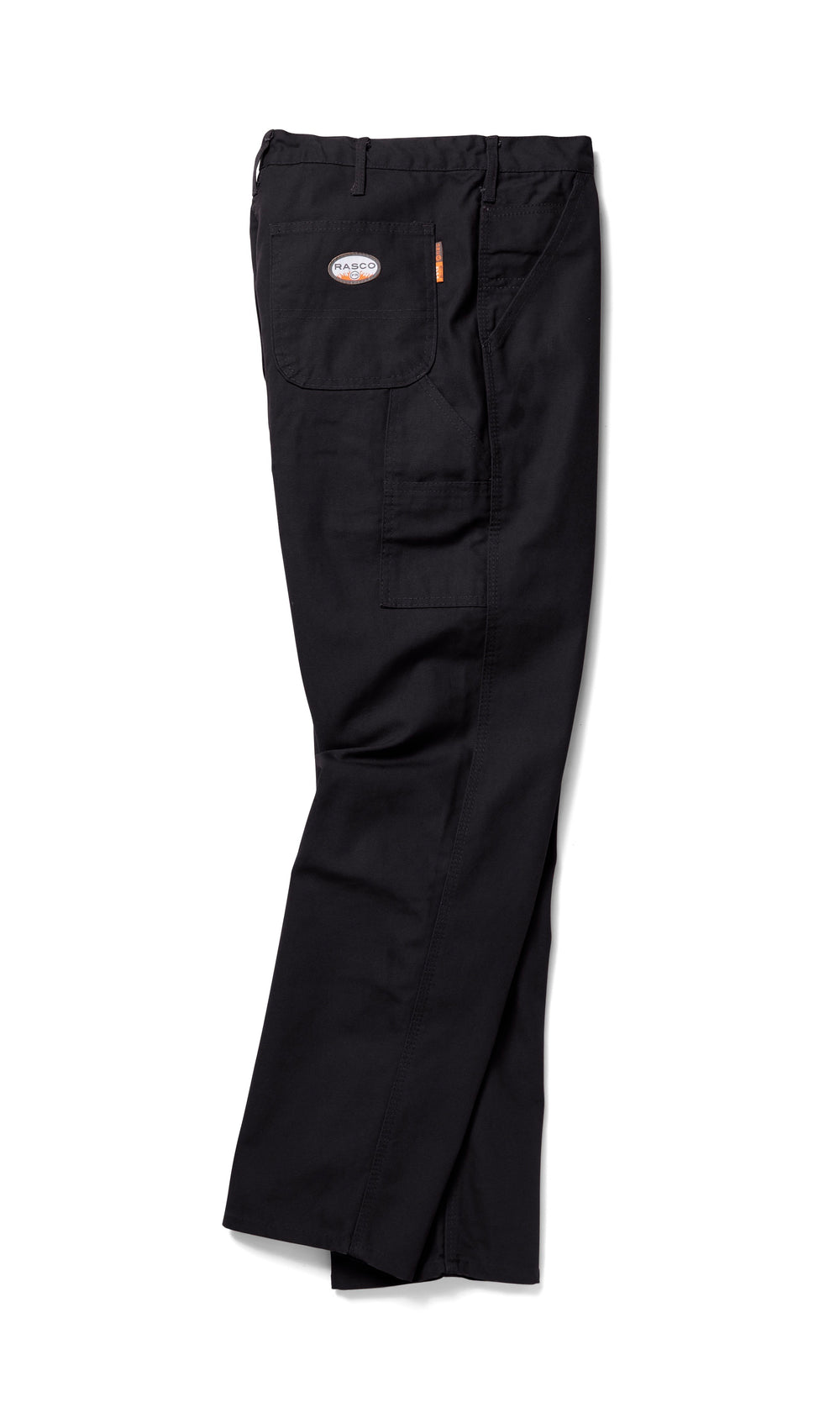 Rasco FR FR4507BK Black Duck Carpenter Pants