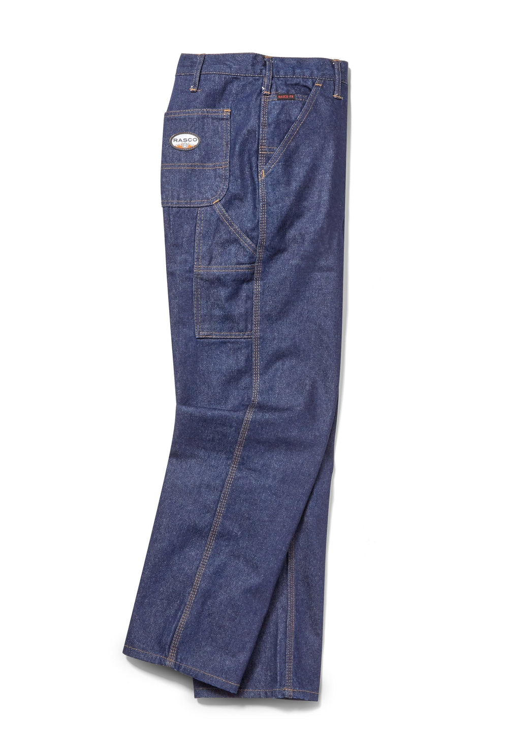 Mens Rasco Fire Resistant Denim Jeans 36 inch Inseam BLUE 54