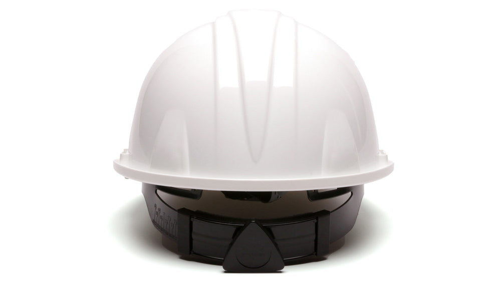 White SL Standard Hard Hat 4 Point