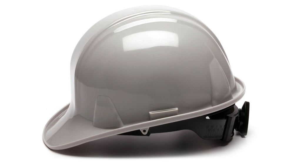 Gray SL Standard Hard Hat 4 Point