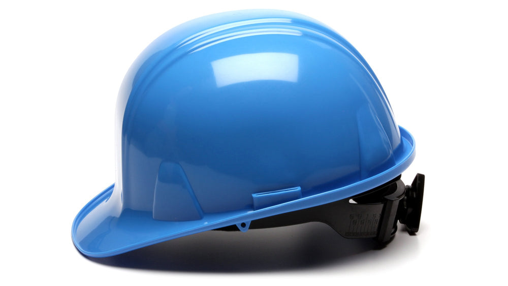 Light Blue SL Standard Hard Hat 4 Point