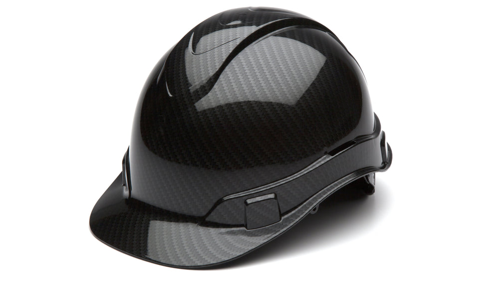 Shiny Black Graphite Ridgeline Standard Hard Hat