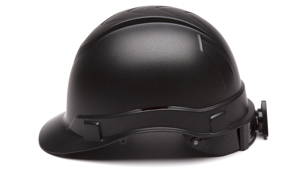 Black Graphite Ridgeline Standard Hard Hat