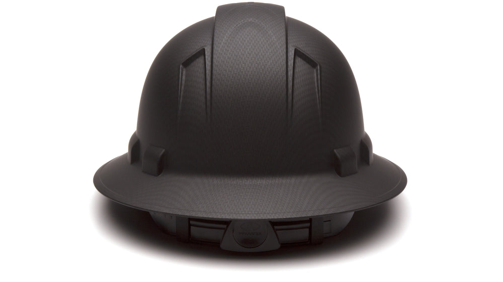 Black Graphite Ridgeline Full Brim Hard Hat