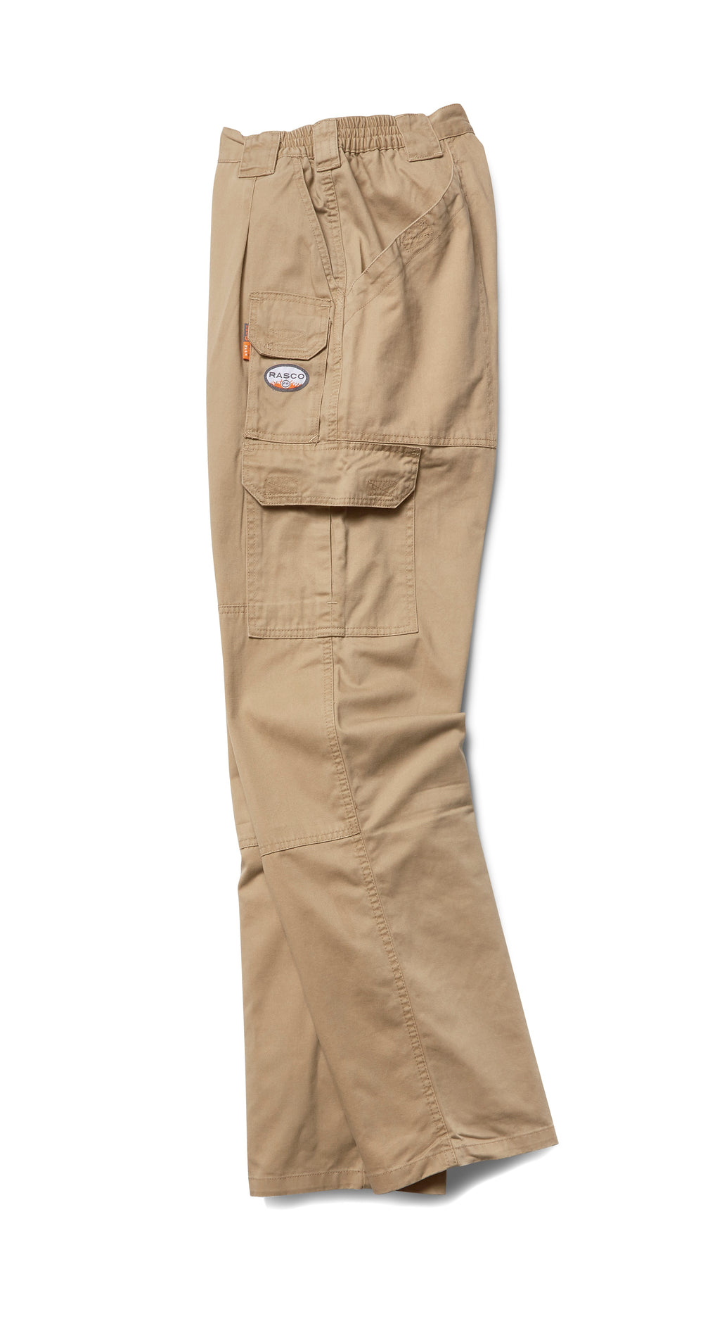 Rasco FR Men's 7 Pocket Khaki Field Pants FR4303KH