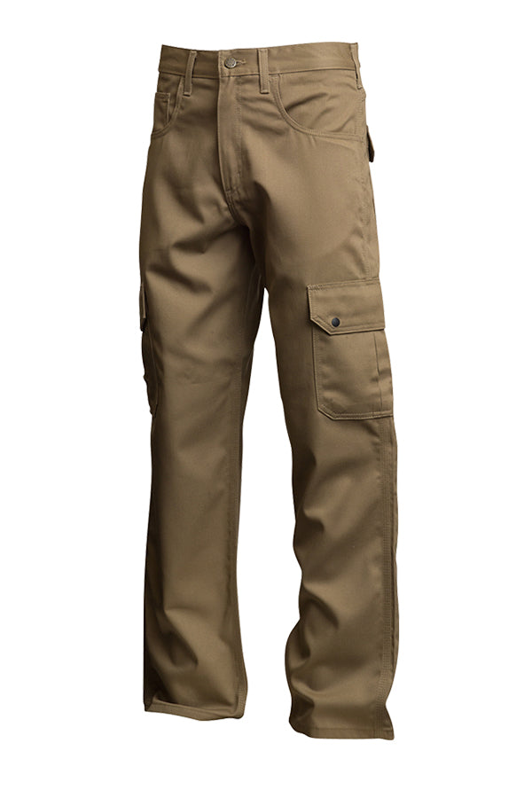 Lapco FR 9oz. Khaki Cargo Pants P-INCKHT9 left side