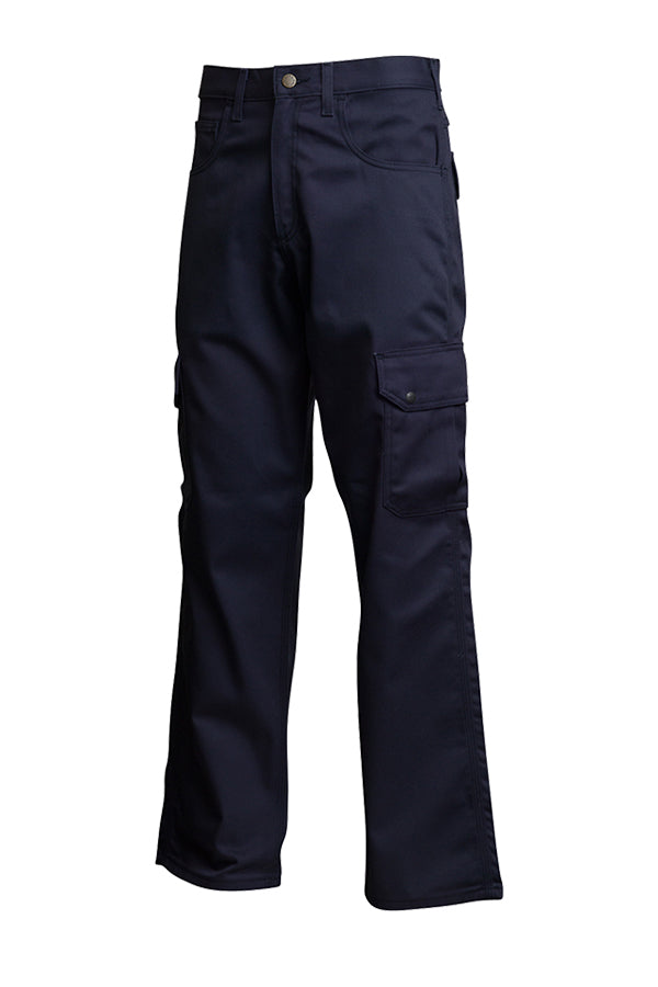 Lapco FR 9oz. Navy Cargo Pants P-INCNYT9 Left