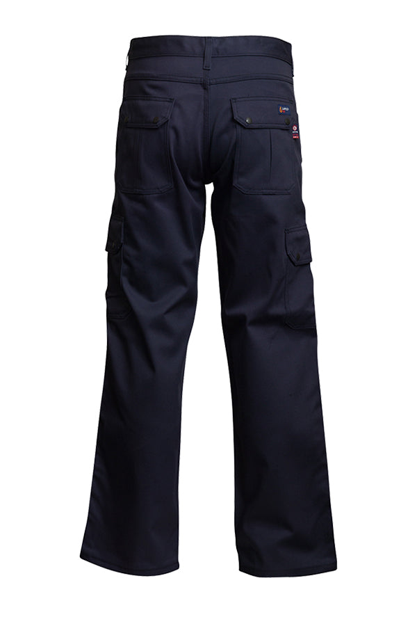 Lapco FR 9oz. Navy Cargo Pants P-INCNYT9 Back