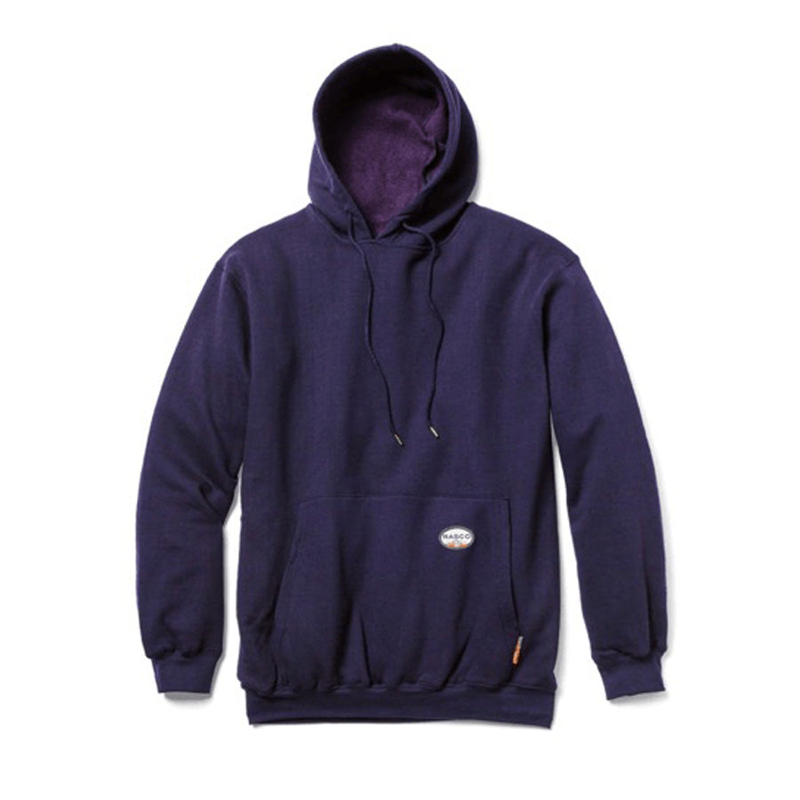 Rasco FR FR2102NV Navy Pullover Hooded Sweatshirt