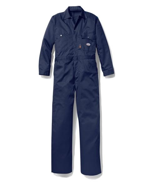 Rasco FR FR2804NV Flame Resistant Navy 10oz Coveralls