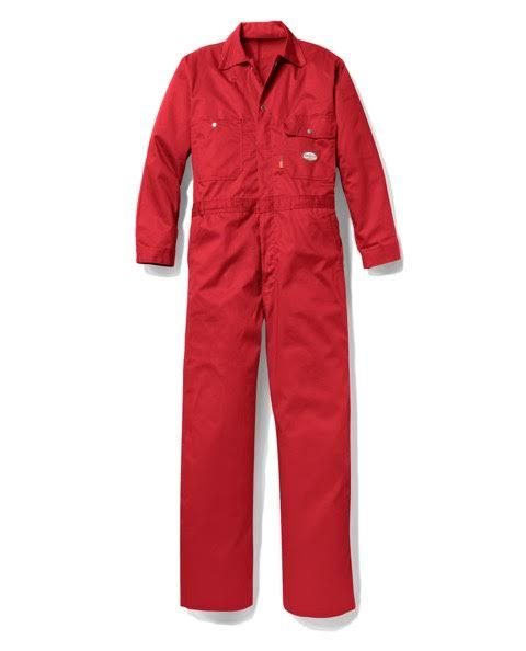 Rasco FR Flame Resistant 7.5oz Red Coverall FR2803RD