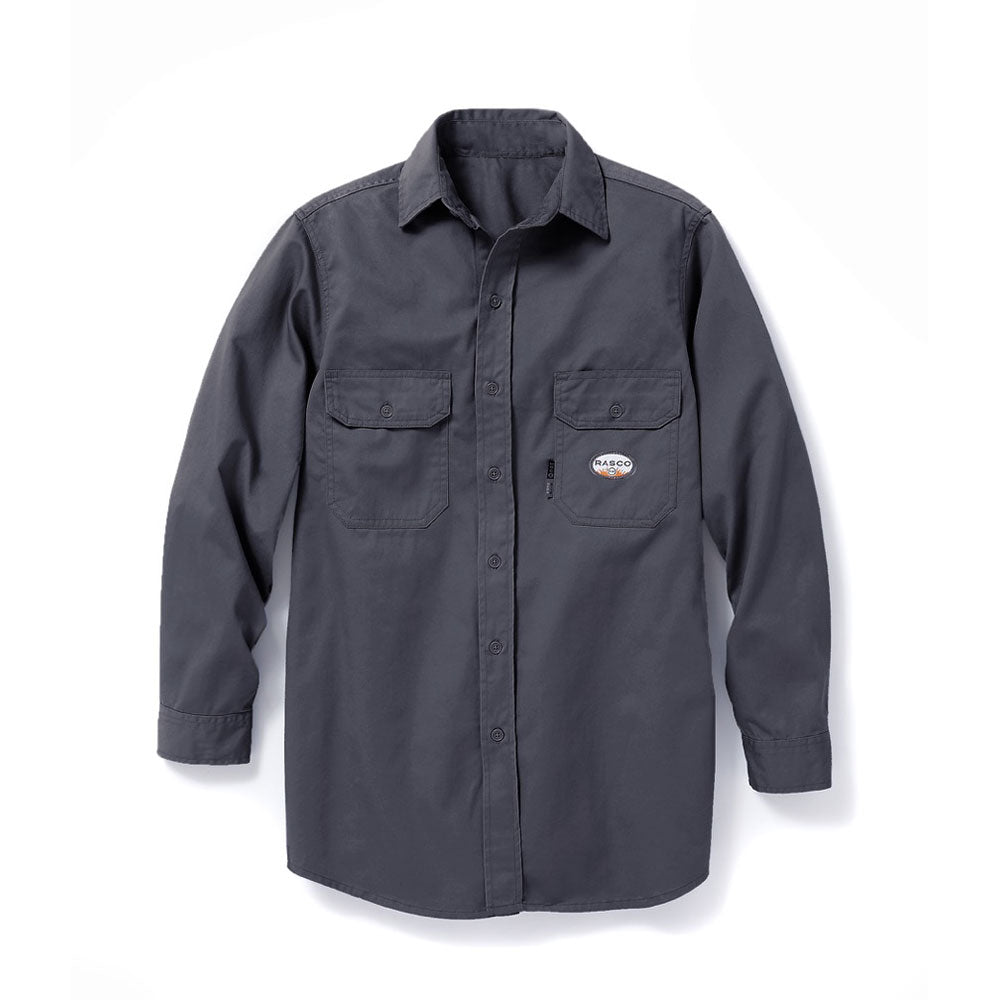 Rasco FR Men's Gray Uniform Shirt FR1303GY