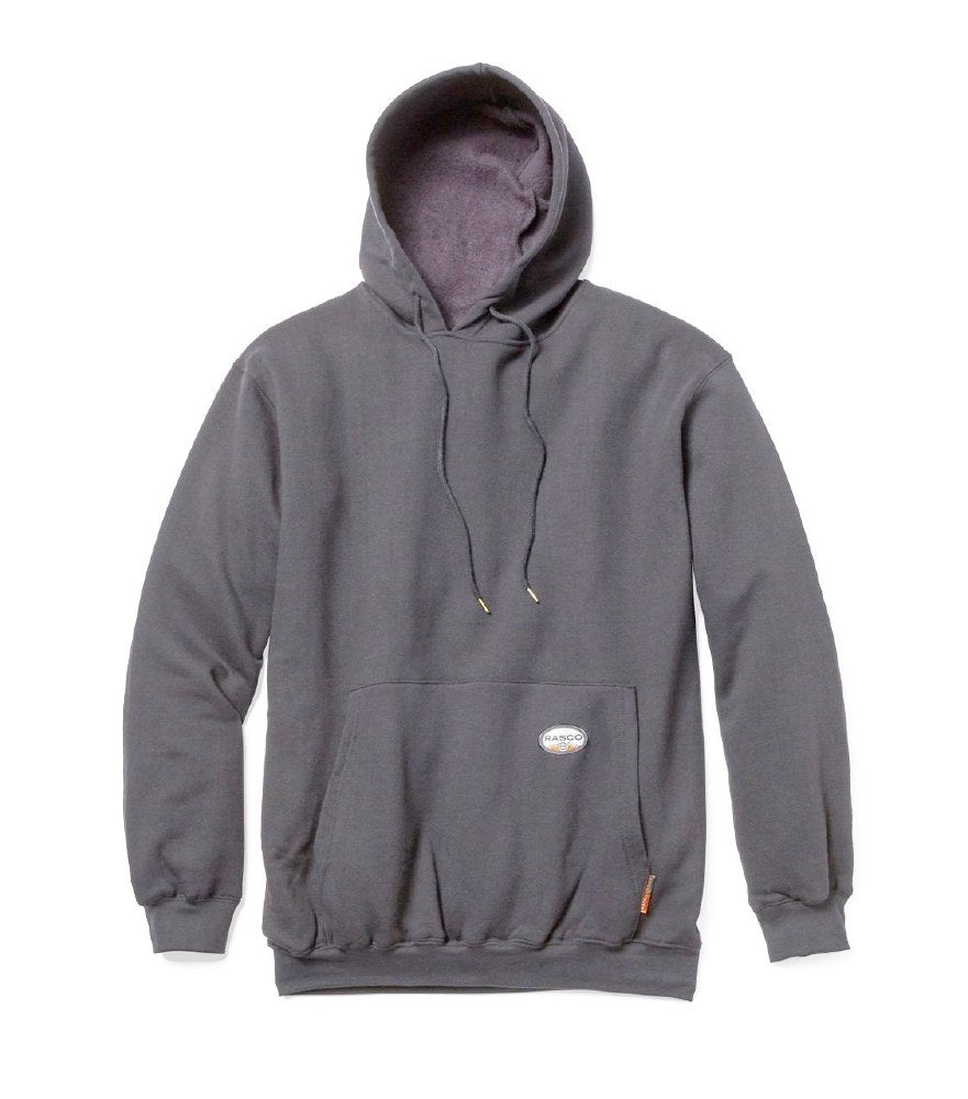 Rasco FR FR2102GY Gray Pullover Hooded Sweatshirt