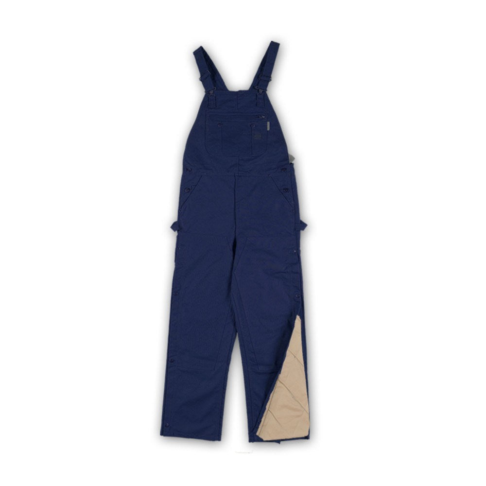 Flame Resistant Navy Twill Mod Acrylic Insulated Bib Overalls - BONQ4001
