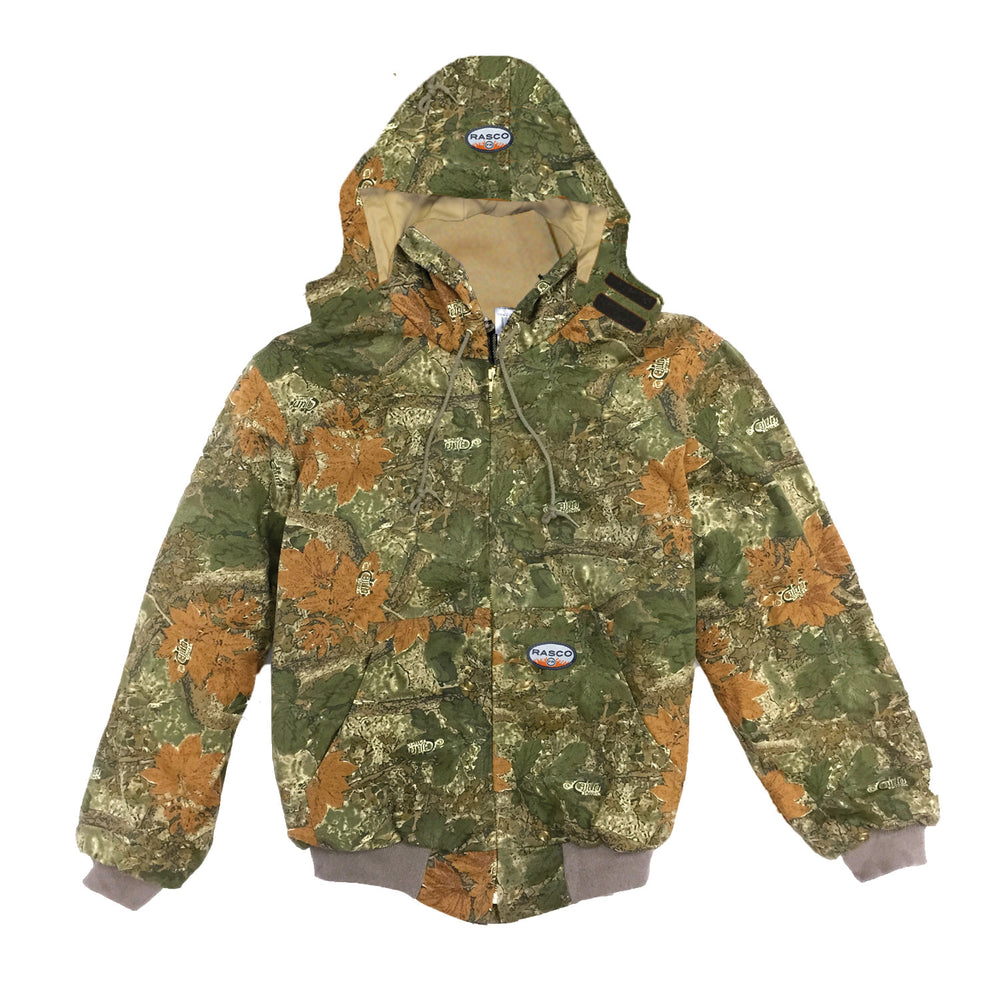 Flame Resistant Hooded Camo Mod Acrylic Hooded Jacket CJFQ2209