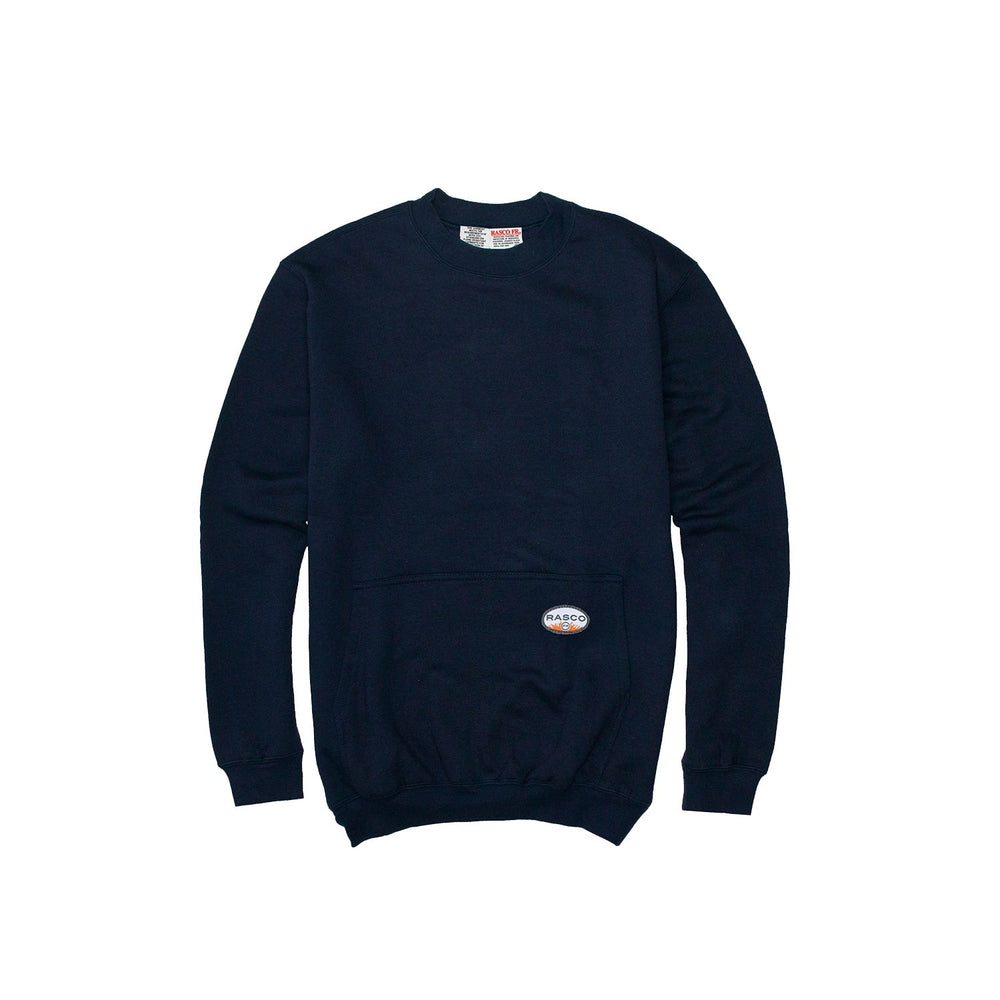Flame Resistant Navy Classic Sweatshirt - NSR2150