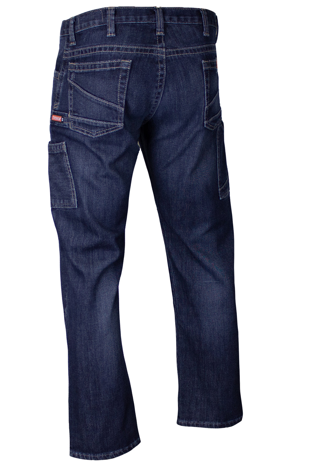 Tecgen FR Men's Tap Room Inherent Stretch Denim PNTD6JTR Back