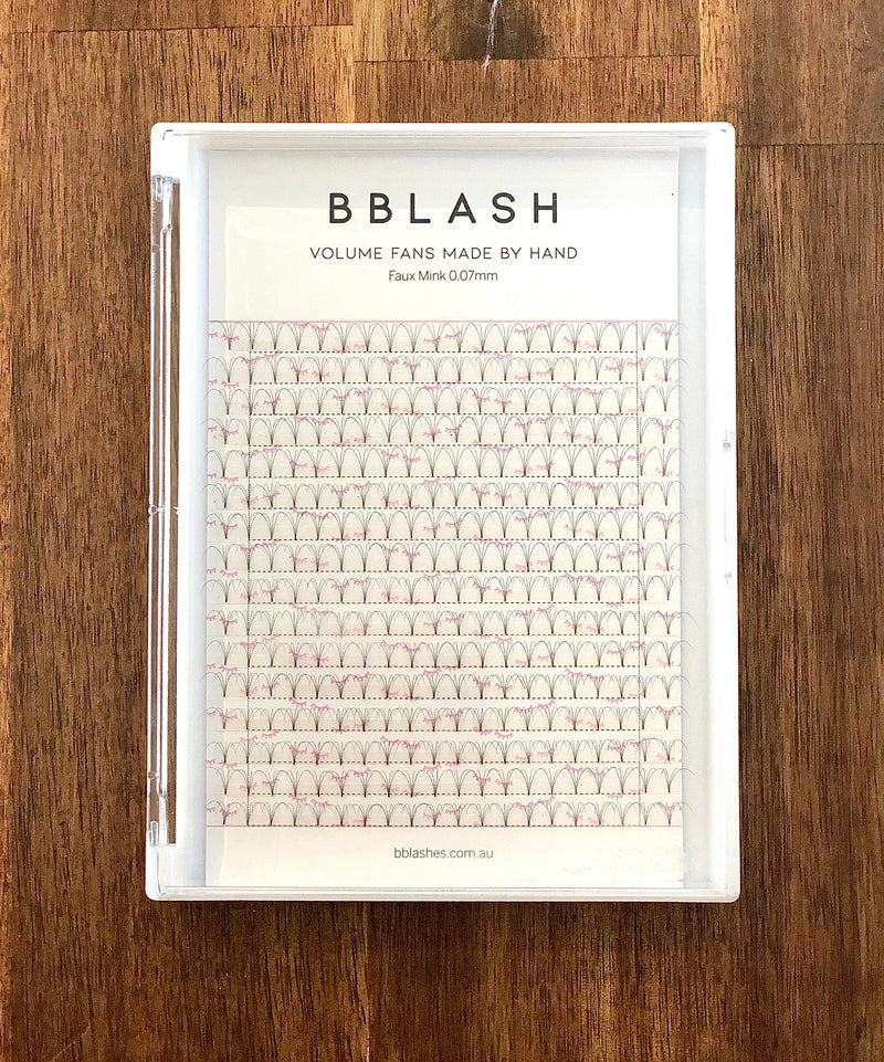 BBLash Pre-made Large Trays - Short Stem
