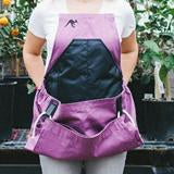 The Roo Gardening Apron-Purple