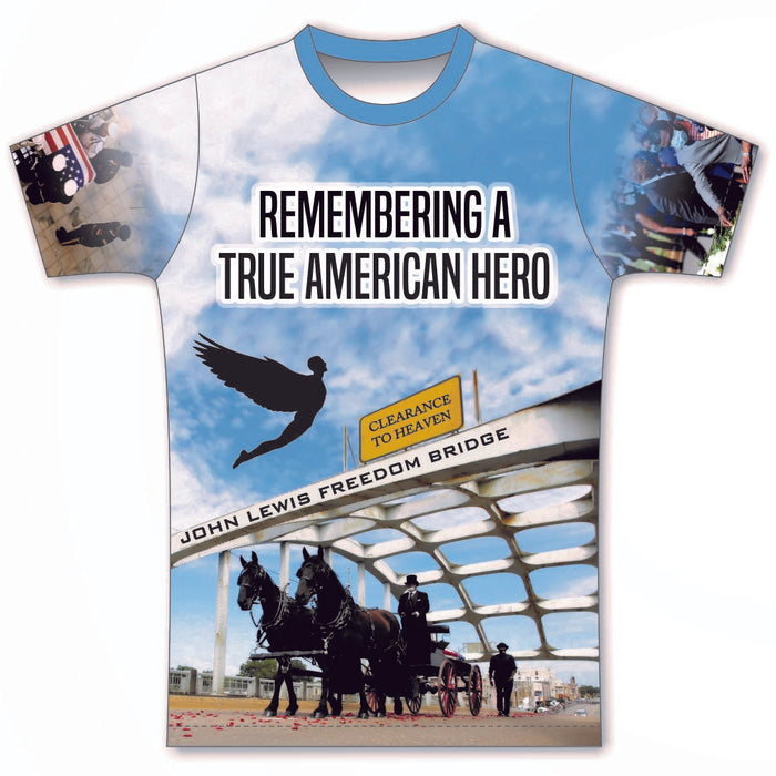 Remembering John Lewis - A True American Hero T-Shirt