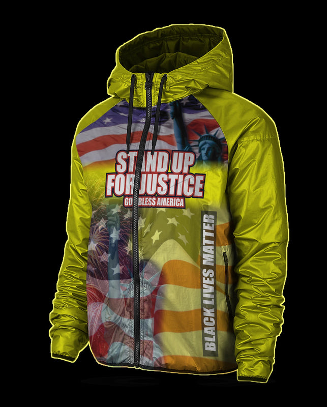 Yellow Stand up for Justice Jacket