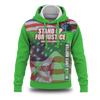 Stand up for Justice Green Hoodie