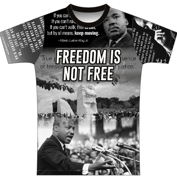 Martin Luther King Jr;  Stood Up For Justice, So We Could Be Free