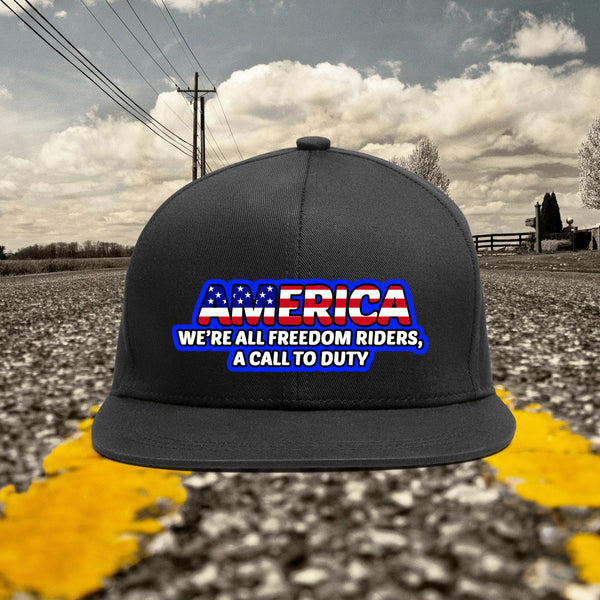 America Freedom Riders Hat