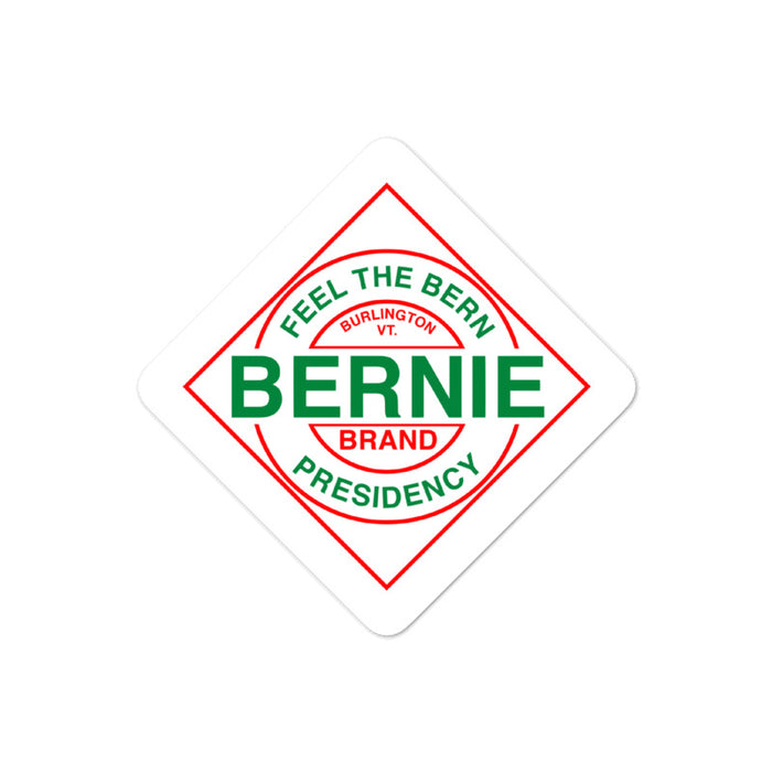Bernie Tabasco Sticker