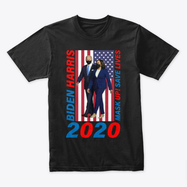 Biden Harris Mask Up T-Shirt