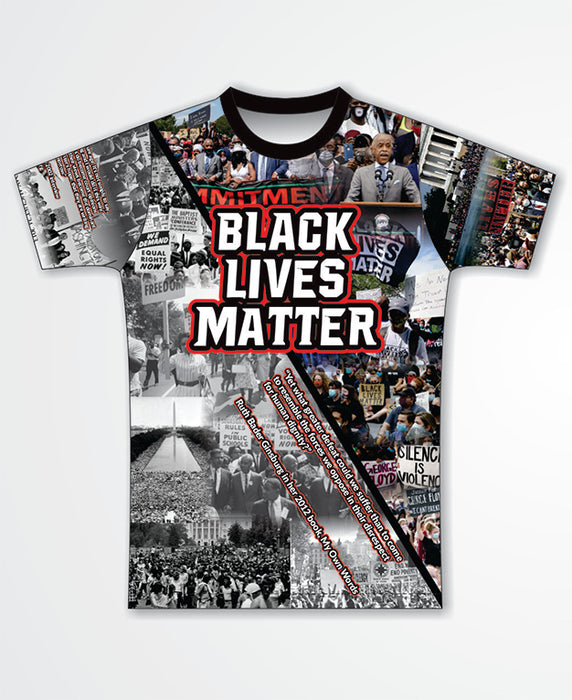 Black Lives Matter Sublimated T-Shirt