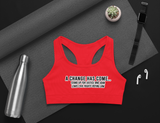 Civil  Rights Sports Bra