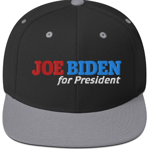 Joe Biden for President Flat-Billed Snapback Hat