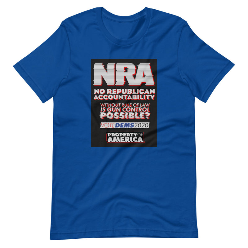 No Republican Accountability Unisex T-Shirt