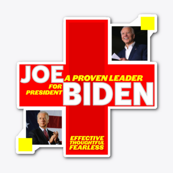Joe Biden Pandemic Sticker