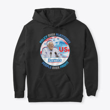 Load image into Gallery viewer, Bernie Policy over Platitudes Sweatshirt