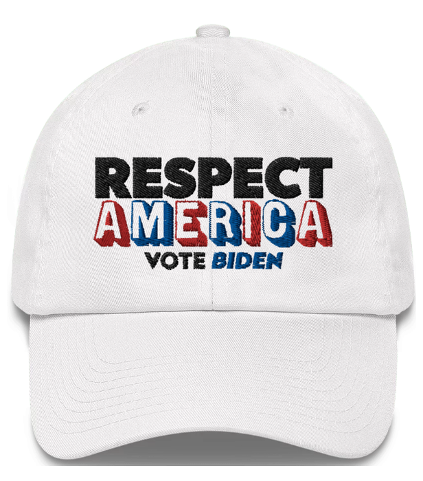 Respect America Vote Biden Hat