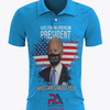 Vote for an American President who cares about you! Blue Polo