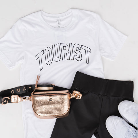 Lush Fashion Lounge Blog: Leisure by Lush 2019 | Tourist t-shirt, Tourist graphic tee, boutique leisure apparel, boutique vacation apparel